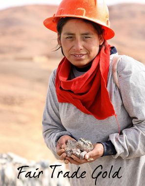 Face of Fairtrade Gold Ethical Sources