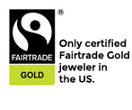Only fairtrade gold jeweler in USA
