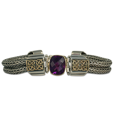 One-of-a-Kind Renee Amethyst Bracelet in
