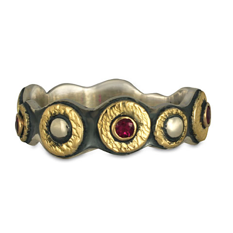 Wemple Ring with Rubies in