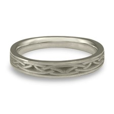Celtic Arches Wedding Ring in Stainless Steel