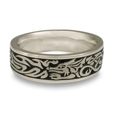 The Guardian Wedding Ring in Stainless Steel
