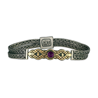 Flow Gem Bracelet in Amethyst