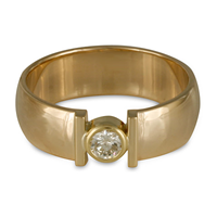 Simple Open Ring in 18K Yellow Gold