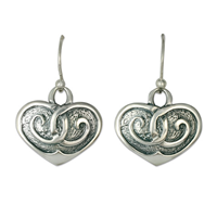 Embrace Earrings Large in Sterling Silver