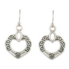 Anam Cara Earrings in Sterling Silver