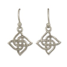 Karasel Silver Earrings in Sterling Silver