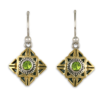 Medina Earrings in Peridot
