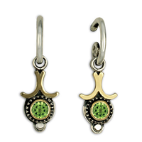 Morning Star Earrings in Peridot
