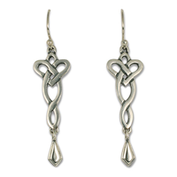 Lovinity Dangle Earrings in Sterling Silver