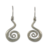 Vox Mundi Earrings in Sterling Silver