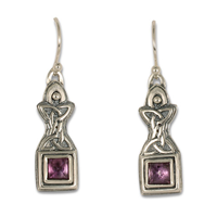 Aedan Earrings in Amethyst