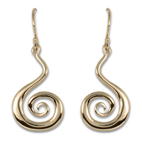 Vox Mundi Earrings Gold in 14K Yellow Gold