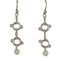 Ashe Earrings in Sterling Silver