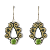 Ravena Earrings in Peridot