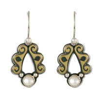 Ravena Earrings in Pearl