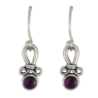Faro Earrings in Amethyst
