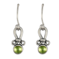 Faro Earrings in Peridot