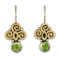Elixir Earrings in Peridot