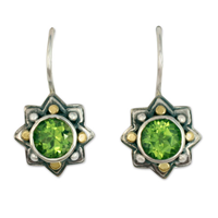 Sunrope Earrings in Peridot