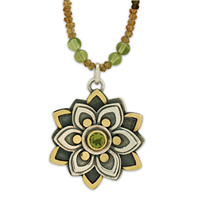 One of a Kind Kamala Tourmaline Necklace in Peridot