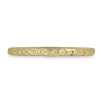 Playa Wedding Band in 18K Yellow Gold