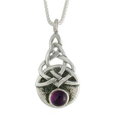 Blue Moon Pendant in Amethyst