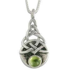 Blue Moon Pendant in Peridot