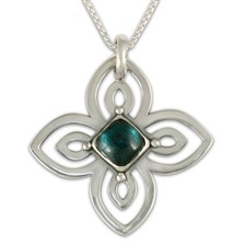 Ionia Pendant in Sterling Silver