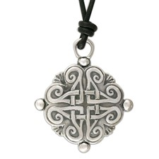 Shona Pendant Large in Sterling Silver