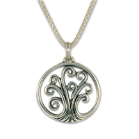 Tree of Life Pendant Mini in Sterling Silver