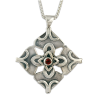 Brianna Pendant in Sterling Silver
