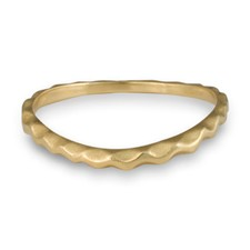 Corona Reale Curvy Ring in 14K Yellow Gold