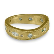 Firmamento Ring in 18K Yellow Gold