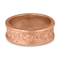 Shannon Wedding Ring in 14K Rose Gold