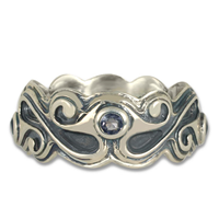 Bridget Ring in Sterling Silver