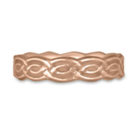 Borderless Laura Wedding Ring in 14K Rose Gold