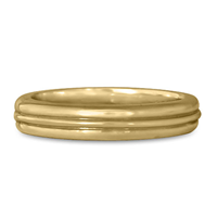 Windsor Wedding Ring in 14K Yellow Gold