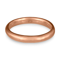 Classic Comfort Fit Wedding Ring 3mm in 14K Rose Gold