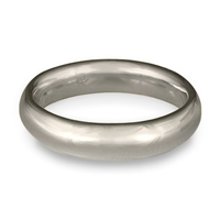 Classic Comfort Fit Wedding Ring 5mm in Platinum