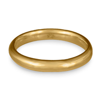 Classic Comfort Fit Wedding Ring 3x2mm in 14K Yellow Gold