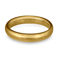 Classic Comfort Fit Wedding Ring 4x2mm in 14K Yellow Gold