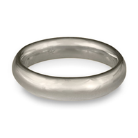 Classic Comfort Fit Wedding Ring 5mm in 14K White Gold