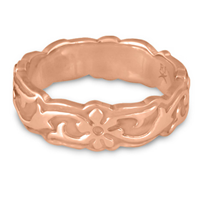 Borderless Persephone Wedding Ring in 14K Rose Gold