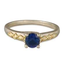 Felicity Solitaire Engagement Ring in Sapphire