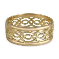Laura Window Ring in 18K Yellow Gold