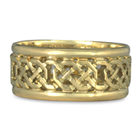 Shannon Window Ring in 18K Yellow Gold