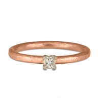 Playa Engagement Ring in 14K Rose Gold
