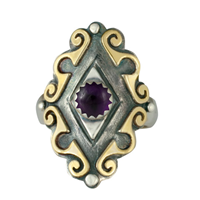 Ravena Ring in Amethyst