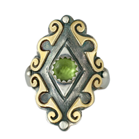 Ravena Ring in Peridot